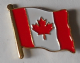 Canada Country Flag Enamel Pin Badge
